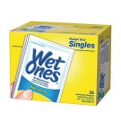Wet Ones Anti-Bacterial Sanitizer Wipes in Citrus (28 Single Pocket Size Hand Wipes)