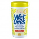 Wet Ones Antibacterial Hand & Face Sanitizer Wipes, Citrus Scent (Kills 99.9% Of Bacteria!)