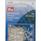 Straight Pins, 30x0.60mm, 20g, 300 count