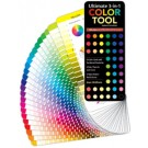 Color Tool (Substitute of Color Wheel)- Ultimate 3-in-1:  Includes CMYK and RGB formulas, plus Hex numbers for website design