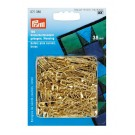 Prym Curved Brass Safety Pins in Gold, 38mm x 150 Count