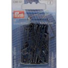Safety Pins,27/38/50mm, Black, 18 count