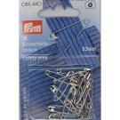 Safety Pins, Hardened Steel, 23mm, 16 count
