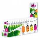 Needle Beetle Display, Includes 15pc. (5pc/3 Colours)