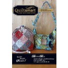 Bitty Bag Fun Pack  - includes 2 Quiltsmart printed interfacing panels to make 2 Bitty Bags