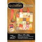 Tablet Tote Bag Fun Pack: contains instructions and a Quiltsmart printed interfacing panel to make 1 Bag