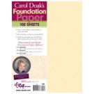 Carol Doak's Foundation Paper, 8.5 X 11, 100 Sheets