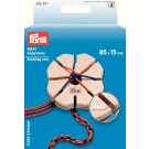 Prym Wooden MAXI Braiding Star, 95 x 15mm (Slot Width: 4mm, Guiding Hole: 2cm)