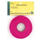"Dritz Quilting Make Your Own Chenille, 100% Cotton, 5/8"" x 20YD (1.58cm x 18.28M), Hot Pink"