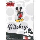 "Iron-On Mickey Applique, 2"" x 1 1/4"" (Specialty Order Only!)"