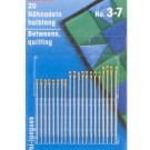 Hand sewing needles,  no.7, 20 count