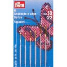 Tapestry needles with blunt point, no.18-22