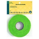 "Dritz Quilting Make Your Own Chenille, 100% Cotton, 5/8"" x 20YD (1.58cm x 18.28M), Green"