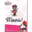 "Iron-On Minnie Applique, 2"" x 1 1/4"" (Special Order Only!)"