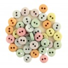 Tiny Buttons Pastel Mix