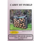 Carry My World Bag Pattern by Lidia K. Froehler of A Cotton Treasure Design