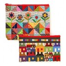 Scrap Quilt Secrets Eco Pouch Set Featuring Designs by Diane D. Knott