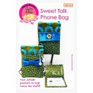 Sweet Talk Phone Bag Pattern (2 Pockets For Extra Storage!) by Among Brenda's Quilts & Bags