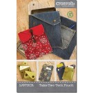Take-Two Tech Pouch Pattern for tablets, eReaders, cell phones or business cards. by Indygo Junction