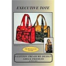 Executive Tote Pattern by Lidia K. Froehler of A Cotton Treasure Design
