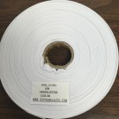 Twill Tape 13mm White Polyester