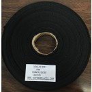 Twill Tape 13mm Black Polyester