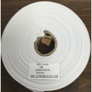 Twill Tape 19mm White Polyester