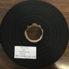 Twill Tape 19mm Black Polyester