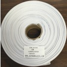 Twill Tape 25mm White Polyester