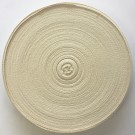 Twill Tape, 19mm x 50M, 100% Cotton, Beige