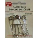 Safety Pins - Size 3 - 6 Count