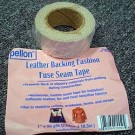 "Pellon Leather Backing/Fashion Fuse Seam Tape, 70% Rayon and 30% Polyester, 2.54cm (1"") x 18.3m (20 Yards), Grey"