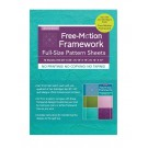 Free-Motion Framework: Full Size Pattern Sheets, 12 Sheets By Jen Eskridge