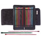 Knitter's Pride Straight Needle Set 25cm (10'') - Sizes 2.5, 4, 5, 6, 7, 8, 9, 10, 11