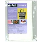 Timtex Interfacing Craft Pack, 13.5x22, One Sheet (Replacement Of TIM1)
