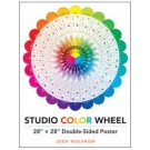 "Studio Color Wheel: 28"" X 28"" Double-Sided Poster"
