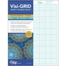 "Visi-Grid Quilt Template - Sheets 8.5"" by 11"" - 4 sheets - 1/8"" Grid"