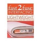 "fast2fuse® Light Double-Sided Fusible Stiff Interfacing, 10yd x 20"" (Cut Yardage)"