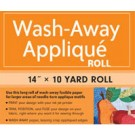 "Wash-Away Applique 14"" by 10 Yard Roll"