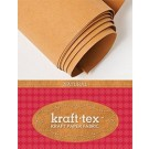 "Kraft-Tex Kraft Paper Fabric Trade Roll, 18"" X  1.5 Yards, Natural"