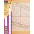 "Fast2mark Tools - 6"" & 8"" Quilter's Rulers"
