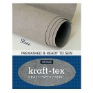 "Kraft-Tex Vintage Pre-Washed Kraft Paper Fabric Roll, 18.5"" x 28.5"", Stone"