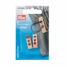Prym Cord Stops 2 Hole, Rose Gold