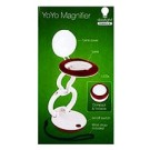 """Smart Lamp with YoYo Magnifier, 2.17"""" Lens - Magnification 8D (3.0X), Requires 3 AAA batteries(Sold separately)"""