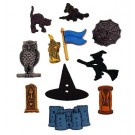 Witchcraft & Wizardry Halloween Buttons (Halloween & Fall Season Promotion)