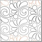 "Whisper,  7.5"" wide pantograph pattern - double row - 144"" long"
