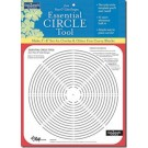 "FAST2MARK ESSENTIAL CIRCLE TOOL FROM PIECE O' CAKE DESIGNS: Make 2""–8"" Set-In Circles & Other Fun Curvy Blocks"