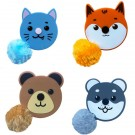 Fluffy Tail Zoo Animal Tape Measures, 1pc. (Assorted Animals)