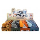 Display - Fluffy Tail Zoo Animal Tape Measures (Assorted Animals), 24 Pieces Per Display