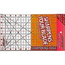 "Sullivans Cutting Edge CLEAR Rulers, Non-Skid & Sharpens Your Blade, 6.5"" x 12.5"""